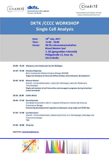 Poster DKTK/CCCC Workshop Single Cell Analysis