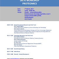 DKTK Workschop PROTEOMICS