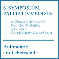 6. Symposium Palliativmedizin
