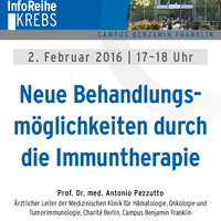InfoReiheKrebs 2.2.2016 Immuntherapie