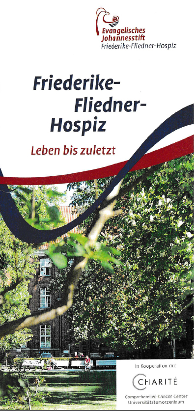 Flyer Friedrieke-Fliedner-Hospiz